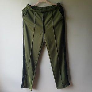Med. Hunter for target hunter green track pants